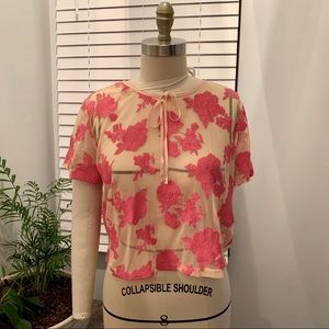Forever21 Contemporary See Through Blouse
